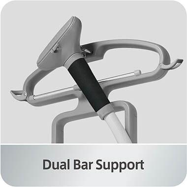 GS45-DJ_Orange_Dual_Bar_Support clothing steamer