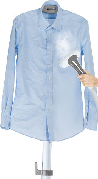 GS60-BJ_Gray_steam_blueshirt clothing steamer